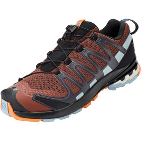 Salomon XA Pro 3D v8 Chaussures Homme, madder brown/ebony/quarry